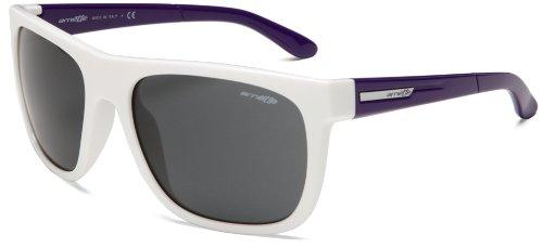 Arnette Herren Sonnenbrille Fire Drill gloss white/violett