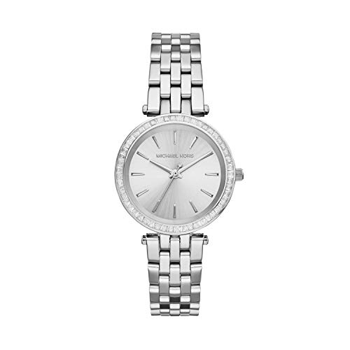 Michael Kors Damen Analog Quarz Uhr mit Edelstahl Armband MK3364