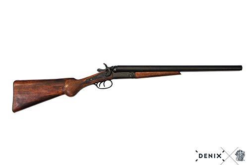 Fucile Doppietta Inerte in Metallo e legno Denix calibro 12 Lunghezza 89 cm