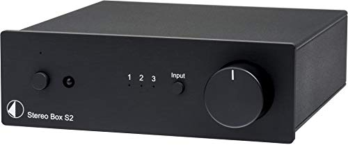 Pro-Ject Stereo Box S2 BT, Bluetooth High End Vollverstärker (Stereo Box S2 BT, Schwarz)