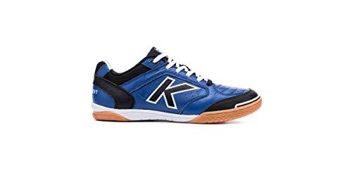 Kelme Precision Leather, Zapatillas de fútbol Sala para Hombre, Azul (Azul Electrico...