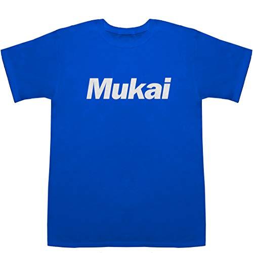 Mukai 向井 ムカイ T-shirts ブルー M【兄弟】【清】