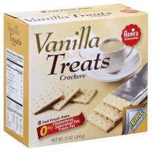 Rovira Export Sodas - Vanilla Treats Crackers (8 foil fresh packs/box) - 9.6 oz Box (Count of 2)