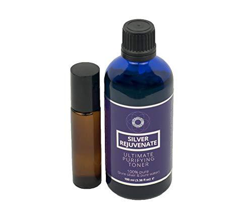 Natural Route Ltd - Tonico purificante per il viso, vegano, cruelty-free, 100 ml con pratico flacone a sfera da 10 ml