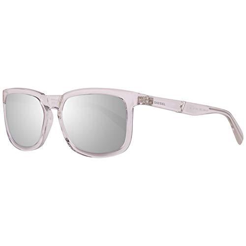 Diesel Sonnenbrille DL0262 5626C Rechteckig Sonnenbrille 56, Transparent