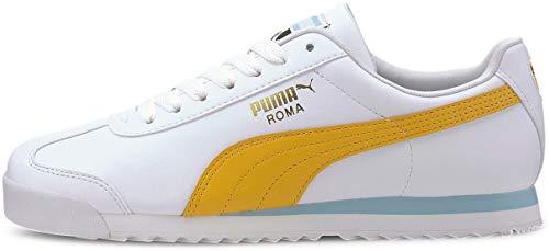 PUMA Roma Basic + Puma White/Golden Rod 4 D (M)