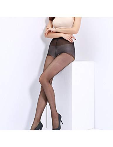 DSHTF Damenstrümpfe Strümpfe Damen Nylons Strumpfhosen Dünne Beine Strumpfhosen Verhindern Haken , Schwarz,3 Paare