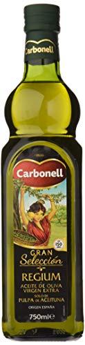 Carbonell Aceite De Oliva Virgen Extra Monovarietal Regium En Vidrio - 750 ml
