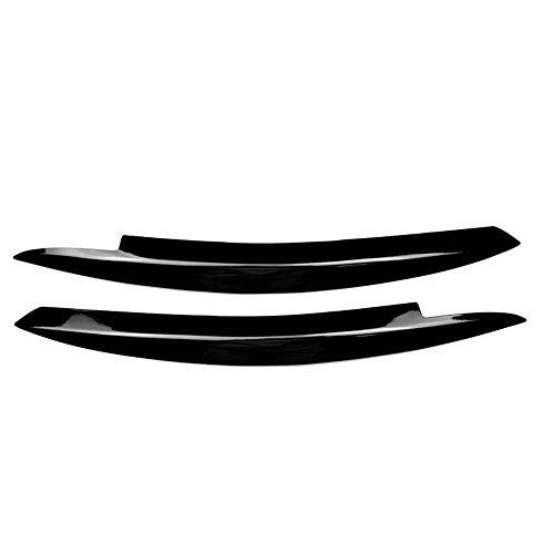LSJVFK Auto Scheinwerfer Augenbrauen Aufkleber Dekoration, fit für Volkswagen Golf 6 Mk6 Vi