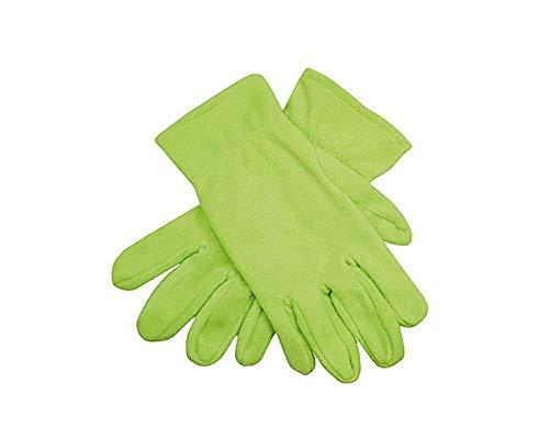 Livingstyle & Wanddesign Damen Herren Fleece Promo Gloves Handschuhe Lime Green, Gr. M/L