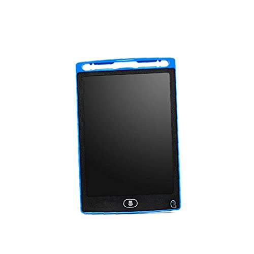Tableta de escritorio LCD 8.5 En borrable hoja Junta de dibujo del Doodle electrónico Bloc de notas de escritura a mano la tarjeta gráfica azul, accesorios periféricos tablero de escritura a mano