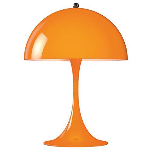 Panthella Mini Table Lamp, Louis Poulsen, Tischleuchte Entworfen von Verner Panton (Orange)