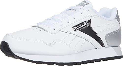 Reebok Classic Harman Run, Zapatillas Mujer, Blanco y Negro, 40 EU