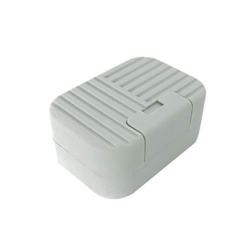 Lai-LYQ - Caja de Almacenamiento para jabón, portátil, para el hogar, baño, Viajes, dispensador
