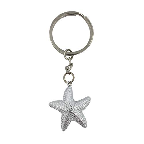 FASHIONCRAFT 6578 Brilliant starfish keychain, Beach Themed Favors, Wedding Favors, Baby Shower Favors, Set of 26