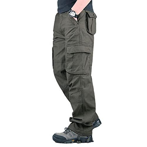 DEBND Pantalones de Carga tcticos para Hombre, Pantalones de Combate tcticos Informales de Combate, Pantalones de Senderismo