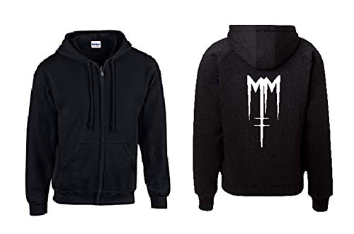 Textilhandel Hering Jacke - Like Marilyn Manson (Schwarz, L)