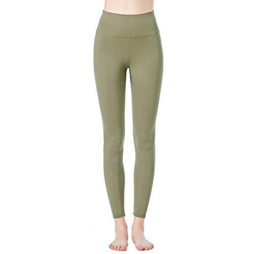 JOPHY & CO. Damen-Leggings, lang, bi-elastisch, aus Stoff (Artikelnummer: 9839), Grün XL
