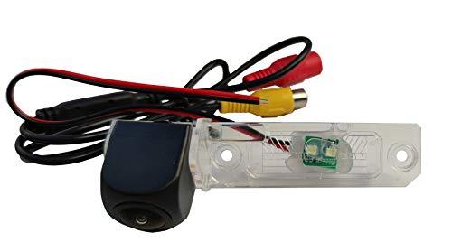 M.I.C.-8016:Rückfahrkamera Kennzeichenbeleuchtung Ersatz für Volkswagen Caddy Passat Touran Transporter Touareg Golf Plus Sharan Skoda Superb (funktioniert auch mit Kabellos Funk Adapter)