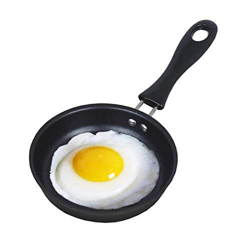 Portable Omelette Mini Frying Pan Oeuf poché Ménage Petit antiadhésives Cuisine Cuisinière Mini Frying Pan for la maison Petit-déjeuner Outils lucar