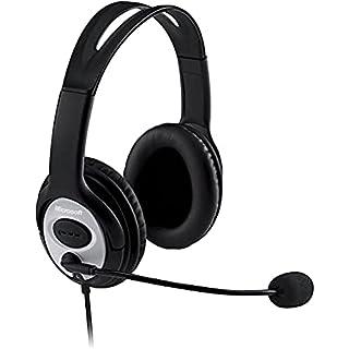 Microsoft LX-3000 Life Chat - Auriculares de Diadema Cerrados USB (con micrófono), Negro (B000JSDOMO) | Amazon price tracker / tracking, Amazon price history charts, Amazon price watches, Amazon price drop alerts