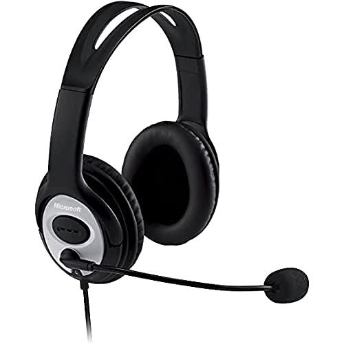 Microsoft JUG-00014 LifeChat LX 3000 Headset - Bl