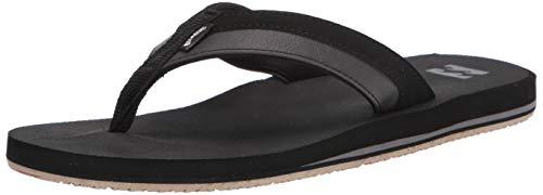 Billabong Men's All Day Impact Supreme Cushion Eva Footbed Sandal Flip Flop, Black, 12