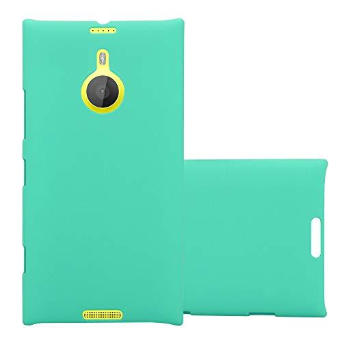 Cadorabo Hülle für Nokia Lumia 1520 in Frosty GRÜN – Hardcase Handyhülle aus Plastik gegen Kratzer & Stöße – Schutzhülle Bumper Ultra Slim Back Hülle Hard Cover