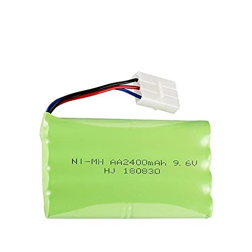 9.6V 2400mAh Juguete de Control Remoto Juguete electrónico RC Coche eléctrico batería de Juguete SM/T/JST Enchufe AA batería Navyblue