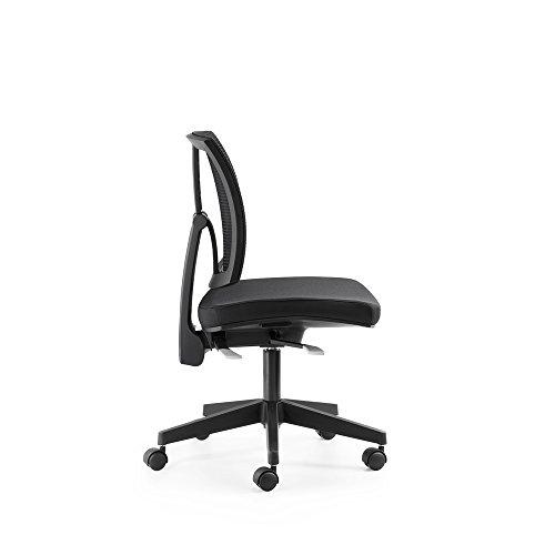 Mayer Drehstuhl, Kunststoff, schwarz, One Size