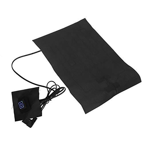 Almohadilla térmica para chaleco, paño calefactor USB ligero y conveniente, para hombre mujer, acampar, actividades al aire libre