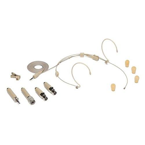 Samson - DE50 - Microfono a Condensatore - Headset - Double ear - Beige - c/Astuccio