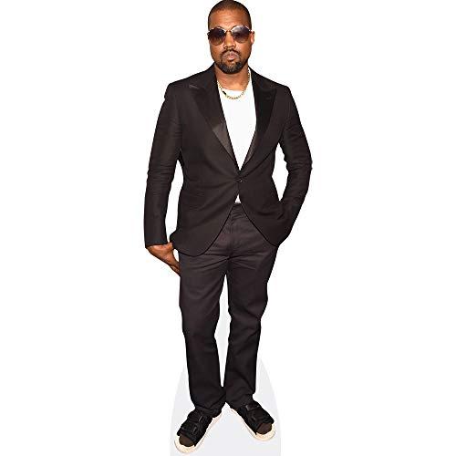 Kanye West (Black Suit) Pappaufsteller mini