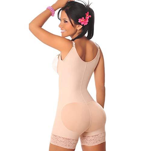 Generic Frauen UnterwäSche Bodys Abnehmen Body Shaper Hosen Control Shapewear Reithosen Modellierung Strap Lace Pattern Shorts