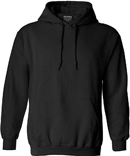 Joe's USA Hoodies Soft & Cozy Hooded Sweatshirt,4X-Large-Black
