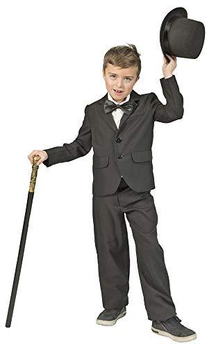 Funny Fashion Geheimagent Gangster Kostüm Jacket für Jungen - Gr. 140