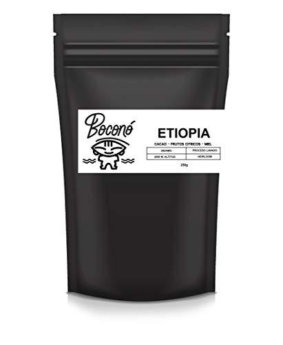Boconó Specialty Coffee Etiopia En Grano Café De Especialidad Arabica 250g Tueste Natural Espresso V60 Chemex Aeropress