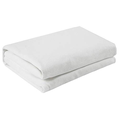 NHL-DRT dubbeldeken, elektrisch, automatische uitschakeling 12 uur en thermostaat met 4 snelheden, warme deken voor bed geschikt voor huis 200 x 180 cm, warm pad