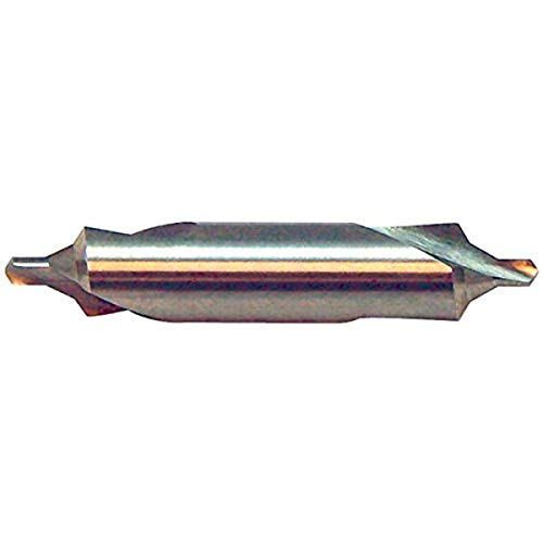 """KEO 17100 2.5x10.0 RH Combined Drill and Countersink, 4"""" Cutting Diameter, 60 Degree Cutting Angle, 35.5"""" Cutting Length, 35.5"""" Length, HSS, Uncoated, Metric B (Pack of 12)"""