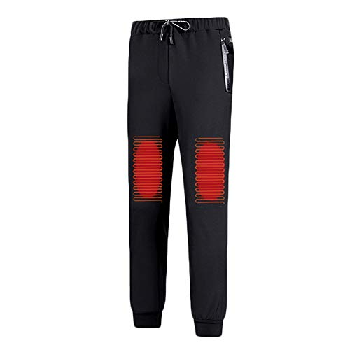 ZMIN Pantalones calefactables USB, Pantalones de Ropa Interior Cálida con Calefacción Eléctrica...
