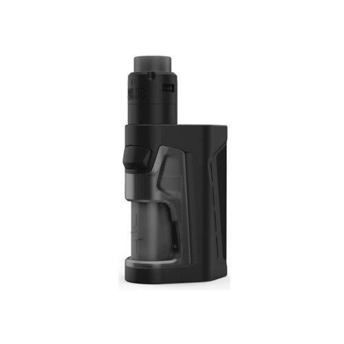 E Zigarette Vandy Vape Pulse Dual Kit Mit RDA Vandy Vape Pulse V2 Verdampfer-Kein Nikotin und Tabak (Schwarz)