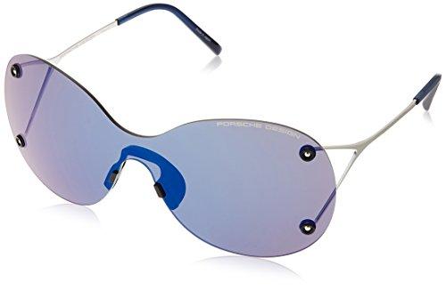 Porsche Design Sonnenbrille P8621 D 99 1 145 Oval Sonnenbrille 99, Silber