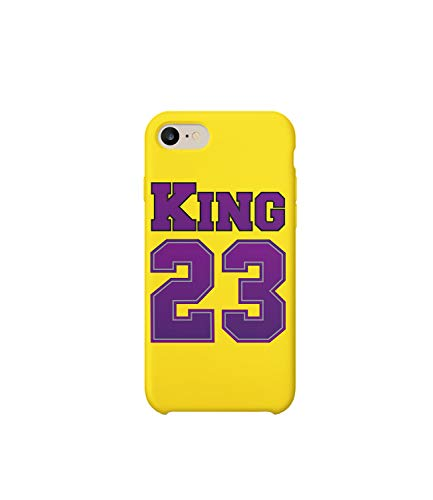 Funda protectora de plástico duro para teléfono inteligente King_MRZ0152 de jugador de baloncesto 23 divertido para Huawei P9
