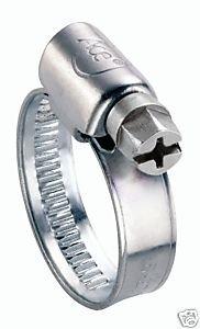 Clarik Ace Clips à flexible Acier doux 3 x 60 à 80 mm-Lot de 10