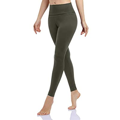 Clearlove High Waist Yoga Pants for Women Solid...