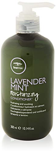 Paul Mitchell Tea Tree Lavender Mint Moisturizing Conditioner - Feuchtigkeits-Conditioner für trockenes, geschädigtes Haar, wohltuende Haar-Pflege, 300 ml