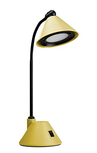 V-LIGHT Adjustable Desk Task Lamp, Yellow (VSLH022Y)