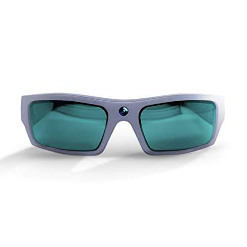 GoVision SOL 1080p HD Camera Glasses Video Recording Sport Sunglasses with Bluetooth Speakers and 15mp Camera - Titanium (GV-SOL1440-TT)