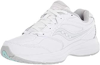Saucony Women's Integrity WLK 3 Walking Shoes, White, 8.5 Wide