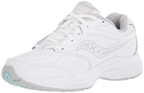 Saucony womens Integrity Walker 3 Walking Shoe, White, 10.5 Wide US